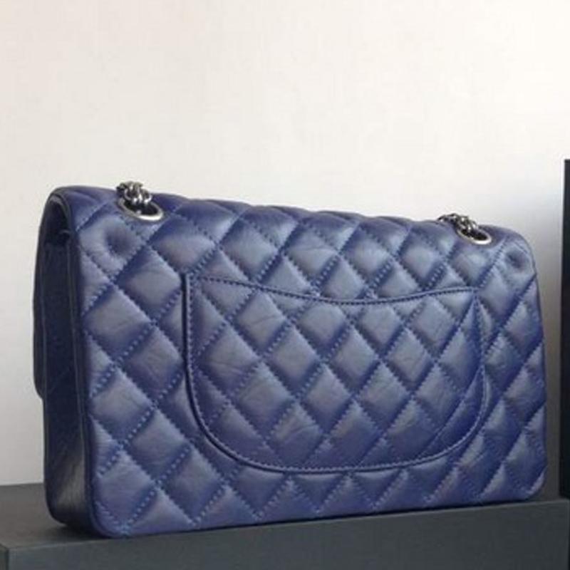 Fashion Free shipping Top-Quality Famous brand bag CC bag Cowhide medium double flap Silver chain women bag shoulder bags<br><br>Aliexpress