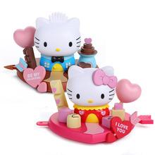 Anime Cartoon Hello Kitty & Friends Sweet Delight PVC Action Figures Collectible Model Toys 2pcs/set KTFG033