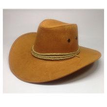Baru 2018 Sun Topi Faux Kulit Topi Pria dan Wanita Perjalanan Topi Fashion Western Topi Chapeu Koboi 9 Warna YY0270(China)