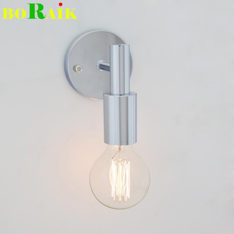 Modern Industrial Wall Lamps AC110-220V E27 Bedroom Restaurant Bar Bedside Lamp Home Decoration Lighting Indoor Wall Lights(China (Mainland))