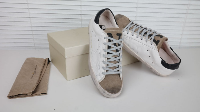 2015 New Italy Brand Original Box,Golden Goose GGDB Superstar Sneakers,Men Women Low Flat Lace-Up Fashion Shoes,Size EUR 36-43