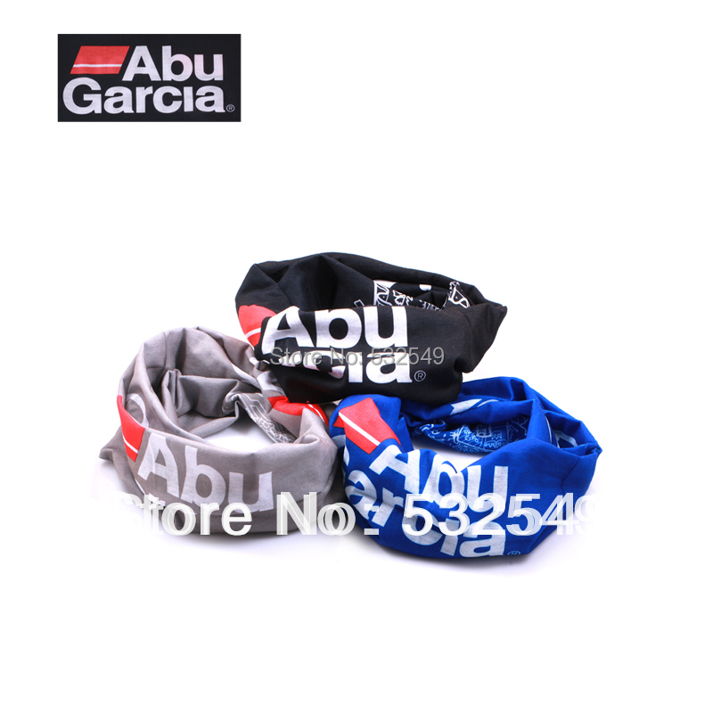 Free shipping Abu Garcia decoration scarf outdoor multifunctional magic bandanas magicaf sunscreen muffler scarf 3PCS WJ01(China (Mainland))