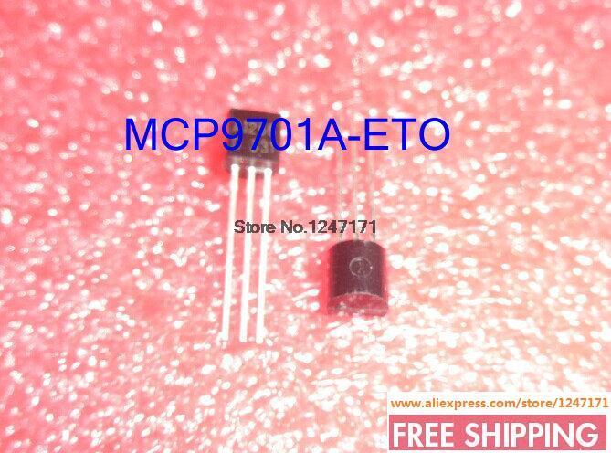 FREE SHIPPING 60PCS/LOT MCP9701A-E/TO SENSOR THERMAL 3.1V TO-92-3 MCP9701A-E 9701 MCP9701A MCP9701 9701A P9701