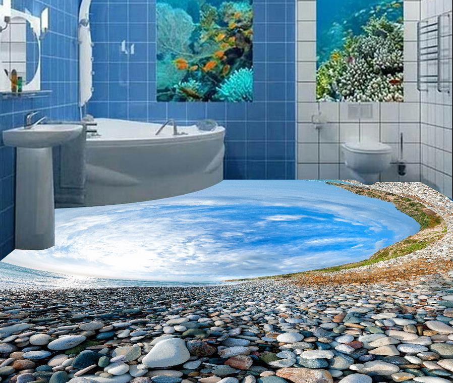 Buy custom floor wallpaper stereoscopic flooring original for Buy mural wallpaper