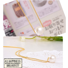NK134 One Direction Fashion Hot 2016 New Bijoux Short Imitation Pearl Modern Temperament Pendants Necklaces For