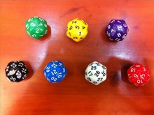 D30 digital dice game dice/ bosons child toy / 30 face dnd D&D Dragons - store