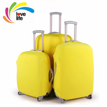 "8 Colors Travel Luggage Suitcase Protective Cover Dustproof Scratch-resistant Luggage Covers Apply to 18""~30"" Traveling Cases(China (Mainland))"