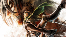 Free shipping Attack on Titan (2013) Japanese sci-fi anime Poster print silk fabric wall decoration 24x36in(1447182896940)