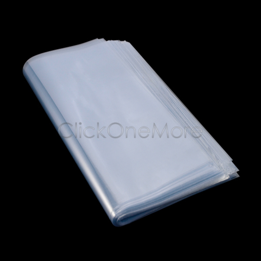 100 X Transparent Shrink Wrap Film Bag Heat Seal Gift Packing 15x15cm 6203090(China (Mainland))