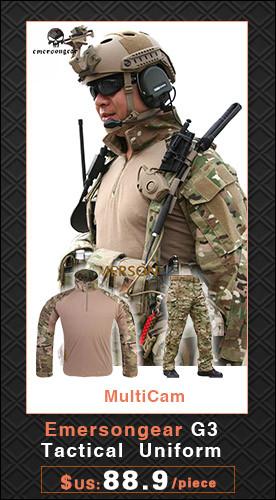 Штаны для военных Emersongear Gen2 Airsoft
