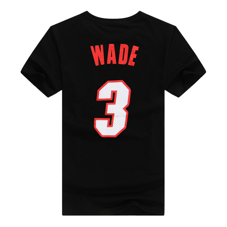 New 2015 summer men short sleeve basketball t shirt cotton tee shirts men's sport t-shirts wade jersey clothing camisa masculina(China (Mainland))