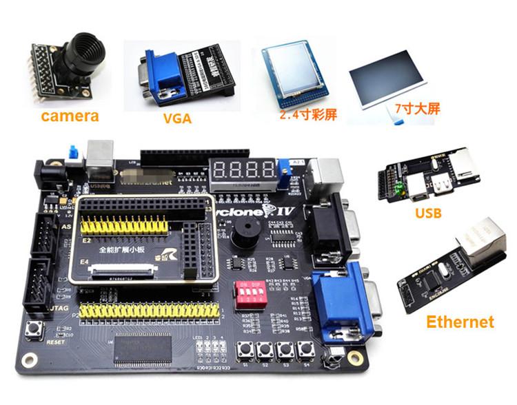 FPGA development board ALTERA Cyclone IV EP4CE four generations SOPC NIOSII send send remote control to send video downloader(China (Mainland))