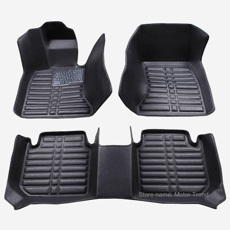 Здесь можно купить  Custom fit car floor mats for Ford Edge Escape Kuga Explorer Fiesta Focus Fusion Mondeo Ecosport car styling carpet liner  Автомобили и Мотоциклы