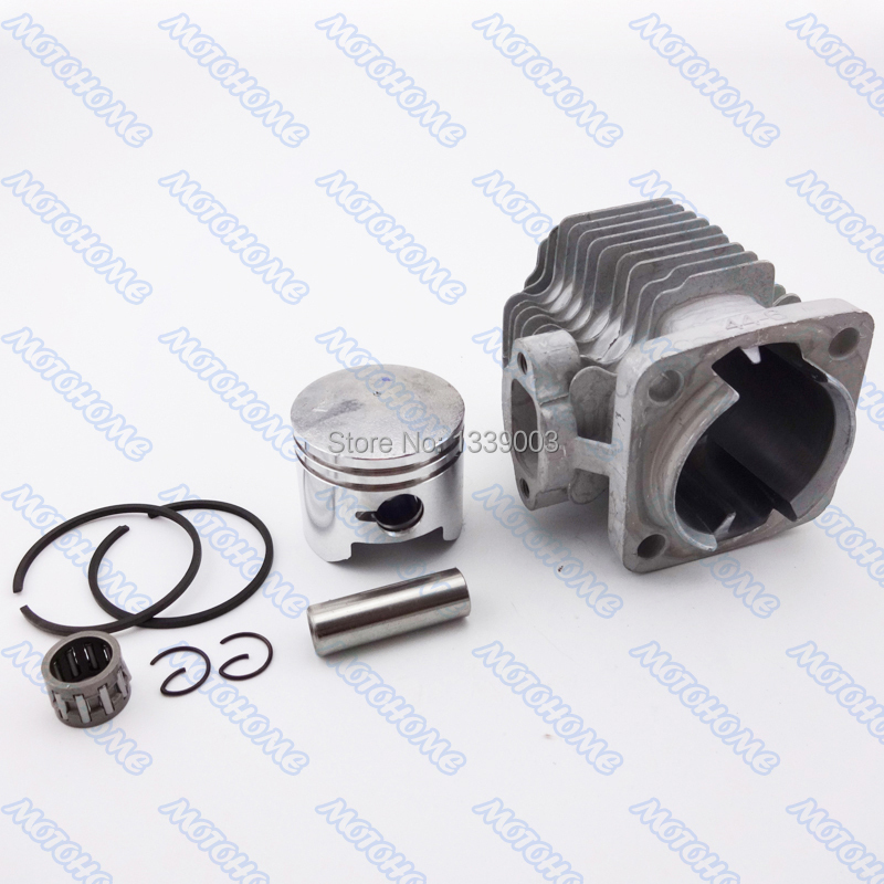 44mm Cyinder Piston kit For 49cc 2 stroke engine Mini Dirt Bike Mini ATV Quad Pocket Bikes Minimoto(China (Mainland))