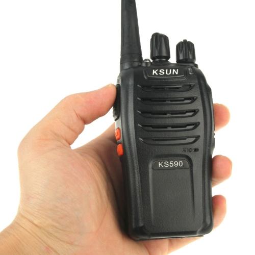 KSUN KS590 Portable Radio Walkie Talkie Retevis UHF 400-470 Mhz 5W 16CH Two Way Radio FM Transceiver(China (Mainland))