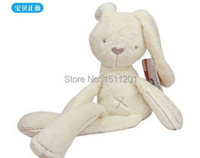 50 см мамы и папы кролик комфорт сна куклы плюшевые игрушки милли и борис гладкой послушным кролик спать спокойно куклы