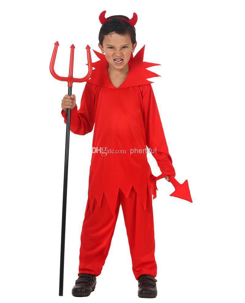 Костюм дьявола своими руками для мальчиков