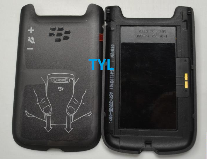 Original New Housing Cover Case Battery Cover Back Door Replacement For BlackBerry Bold 9790 10pcs free shipping(China (Mainland))