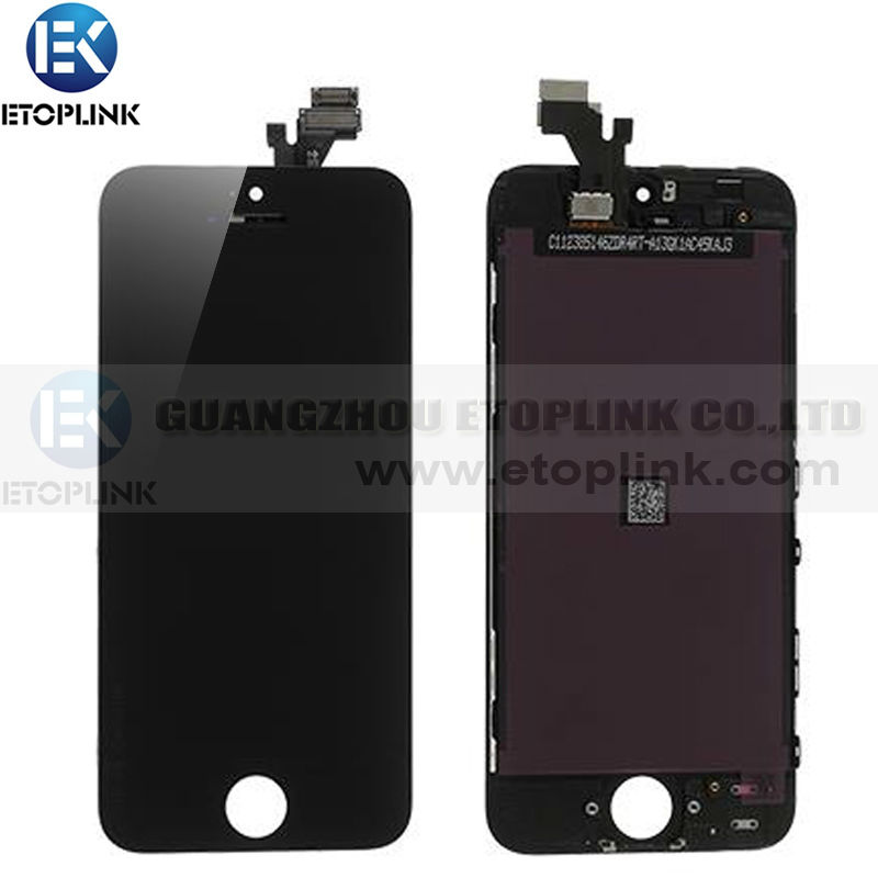 Test 1 BY iphone 5 5G lcd Touch Screen Digitizer Assembly Iphone 5g Black&White color - Guangzhou Etoplink Co., Ltd store