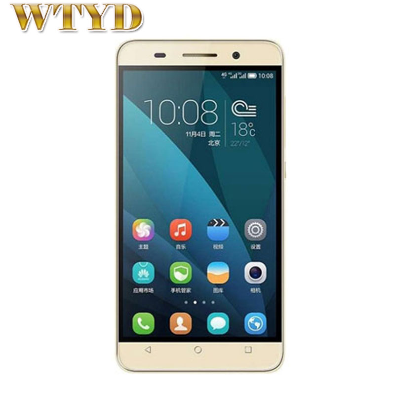 4G Original Huawei Honor Play 4X(UL00) 5.5'' Android 4.4 SmartPhone MSM8916 Quad Core 1.2GHz RAM 2GB+ROM 8GB FDD-LTE&WCDMA&GSM