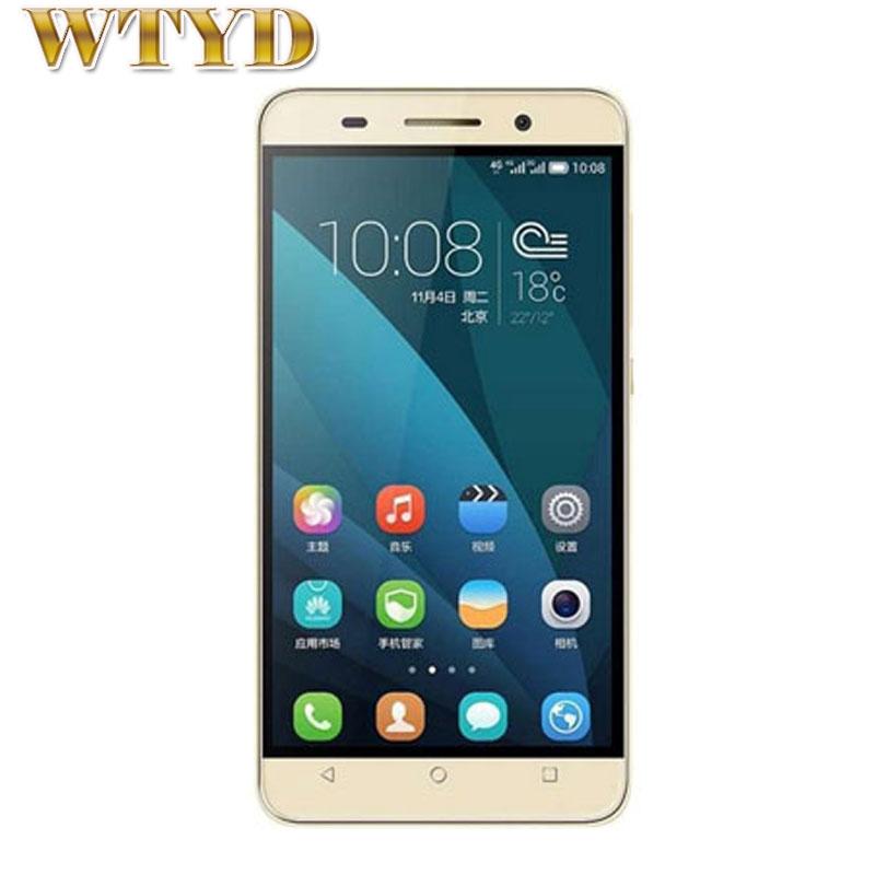4G Original Huawei Honor Play 4X(UL00) 5.5'' Android 4.4 SmartPhone MSM8916 Quad Core 1.2GHz RAM 2GB+ROM 8GB FDD-LTE&WCDMA&GSM
