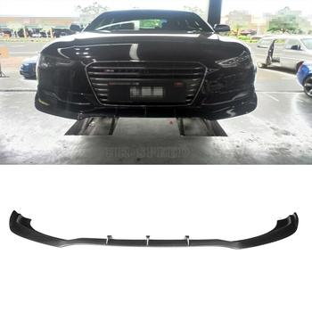 S5 JC styling carbon fiber front bumper lip spoiler fot Audi S5 bumper 2012UP
