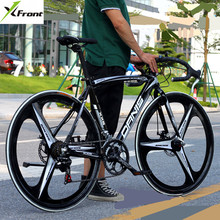 Buy New brand Aluminum Alloy Frame 14 speed 700CC disc brake mountain bike outdoor sport downhill bicicleta racing cycling bicycle for $361.25 in AliExpress store