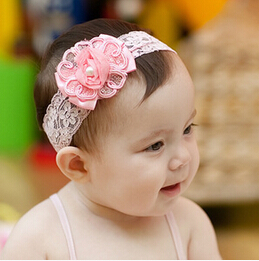 Hot New Style Beautiful Headband Hairband Baby Girls Flowers Bow Headbands Kids Hair Accessories Baby Bowknot