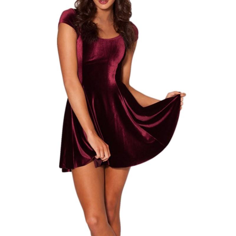 Fashion-KNITTING-FASHION-X-064-New-Women-Velvet-Mulled-Wine-Evil-Cheerleader-2-0-Dress-S (2)