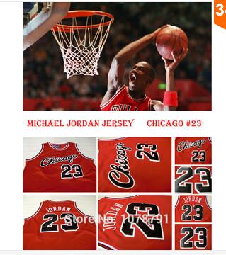 Free Shipping Discount Chicago Red Retro Throwback Basketball Jerseys #23 Michael Jordan Jersey,, Size S-3XL(China (Mainland))