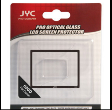 YC Pro 0.5mm LCD Screen optical GLASS Protector Cover Photo Studio Accessories For Canon 600D(China (Mainland))