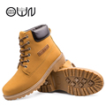Big Size Men Boots Fashion Snow Mens Casual Boots High Quality PU Leather From 39 to