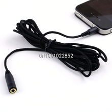 1Pcs 3.5mm 10ft Audio Headphone Stereo Female to Male Extension Cable Cord For Mp4 Brand New