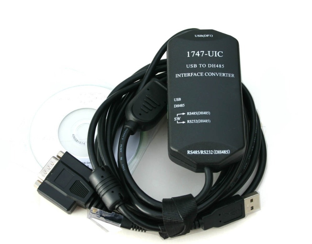 Allen Bradley SLC 500 Programming Cable - USB to DH485 1747-UIC(China (Mainland))