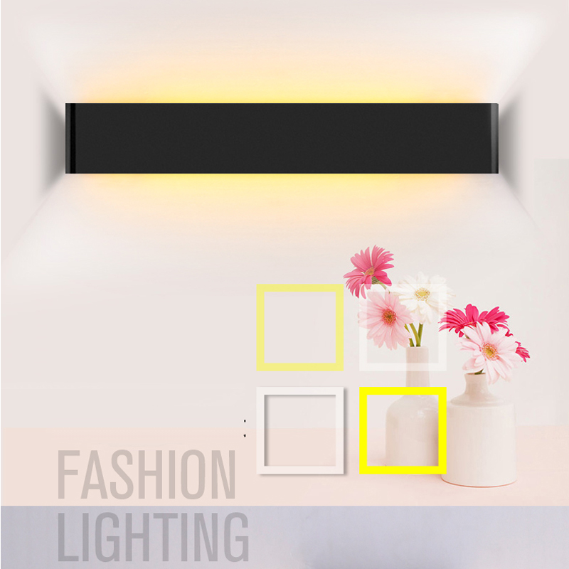 WARM WHITE ECOBRT Modern 14W 30cm  Long Aluminum LED Indoor Wall Lamps in Foyer as Decoration Sconce Light 90-260V ac<br><br>Aliexpress