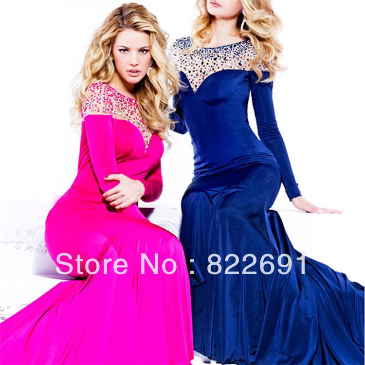 Jlo blue dress evening