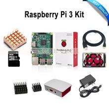 Raspberry Pi 3 Модель B + 3.5 Сенсорный Экран + 16 ГБ TF Карта + 2.5A Питания (ЕС ИЛИ США) + ABS Корпус + Теплоотвод + HDMI Кабель(China (Mainland))