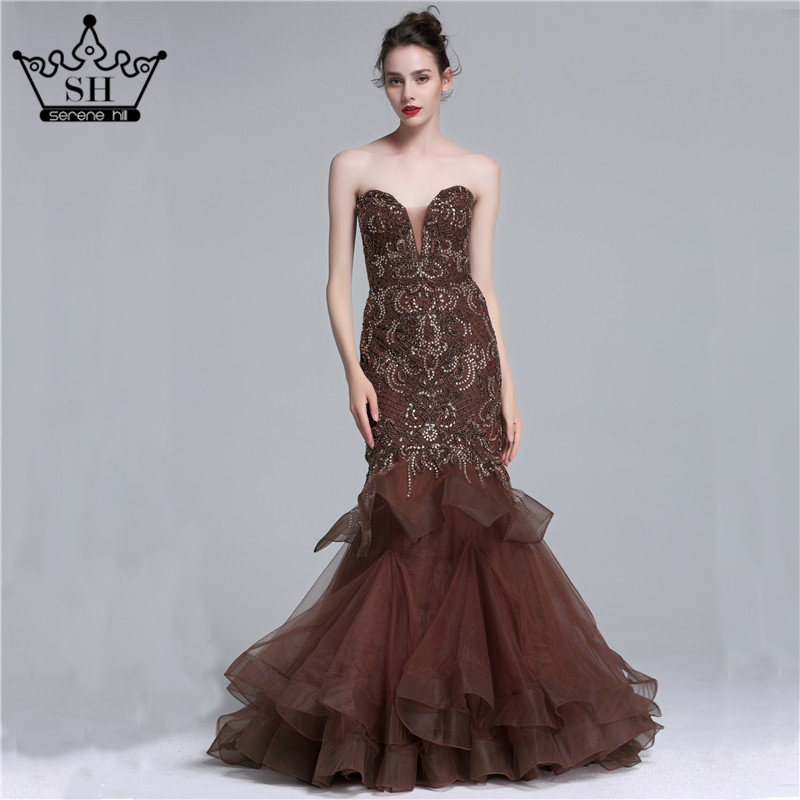 High Quality Brown Evening Gowns Promotion-Shop for High Quality ...