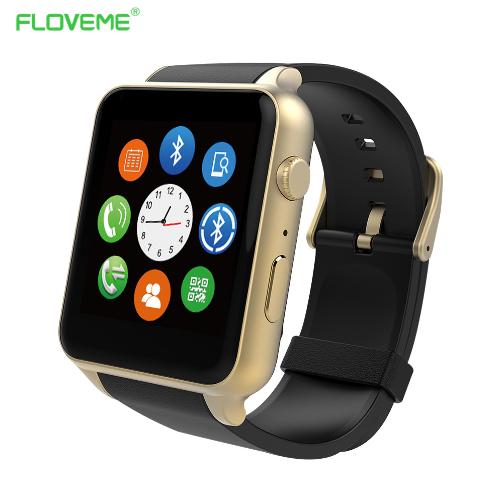 Фотография FLOVEME E1 Smart Watch Relogio For IOS Android Heart Rate Tracker Smart Electronics Bluetooth Inteligente clock Pedometer Watch