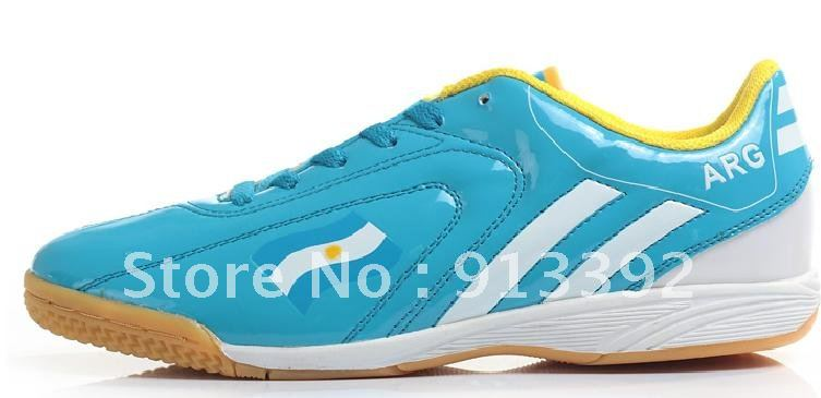 Most Popular Athletic Shoes ,Top Selling Designer Durable Casual Soccer Shoes, ARG Flag trainer Football Shoes(China (Mainland))