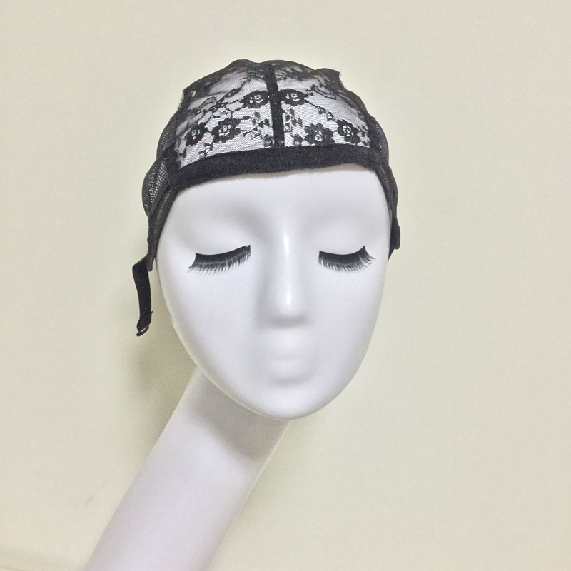 Glueless Lace Wig Cap For Making Wigs With Adjustable Straps Weaving Caps For Women Hair Net & Hairnets Easycap 6015(China (Mainland))