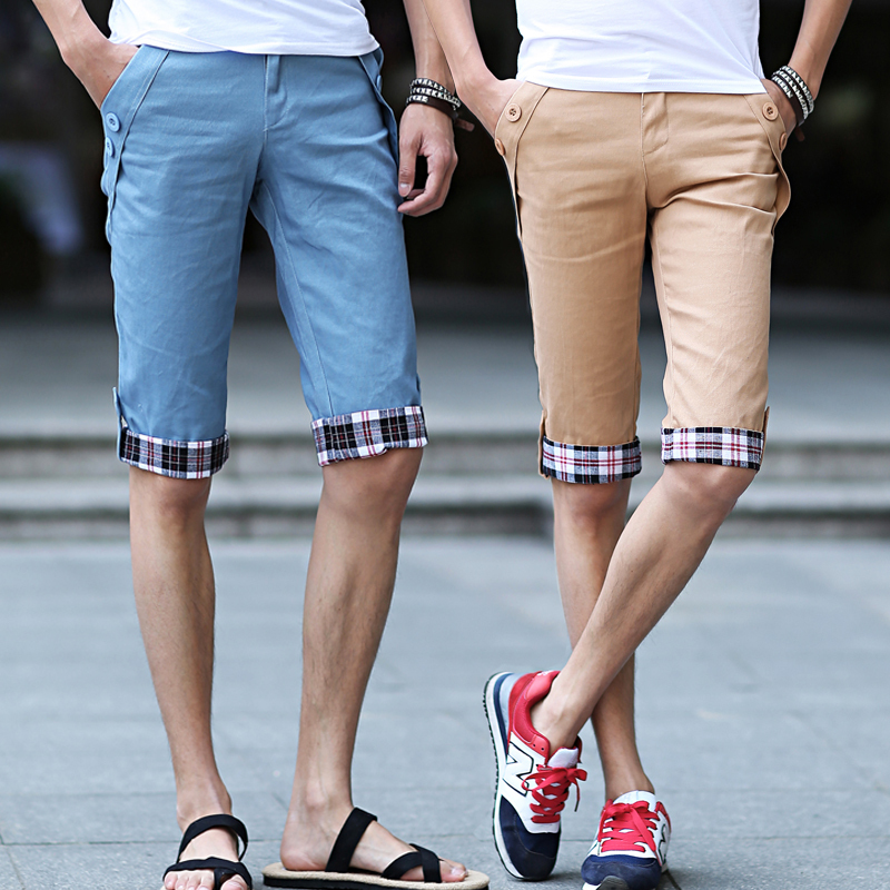 2015 Male's Leisure/Casual Short Trousers Man's Shorts Seven Men 10 Color 5 Size - Man Show store