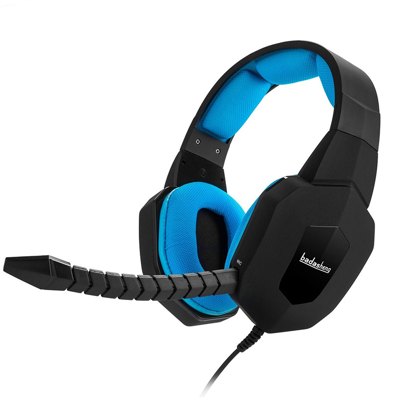 badasheng BDS-939P Gaming Headsets Earphone for PS4/Xbox ONE/Laptop Mobile Phones Headband Headset 3.5mm gaming headphones(China (Mainland))