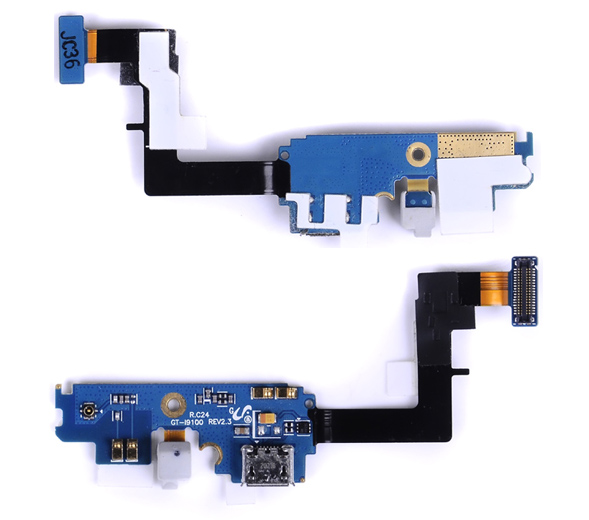 REV 2.3 I9100 Charger Port USB Flex with Mic for Samsung Galaxy S2 SII I9100 Charging Dock Connector Cable Ribbon 1pcs(China (Mainland))