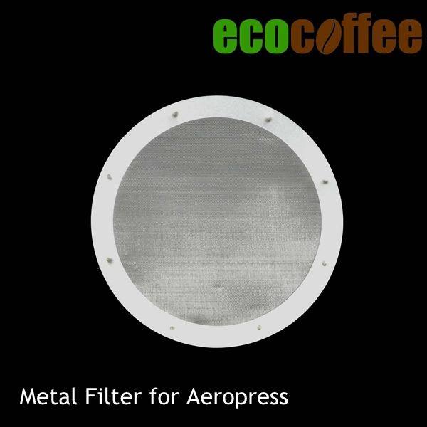Coffee Maker With Metal Filter : Metal Filter for Aeropress Coffee Maker Stainless Steel Filter