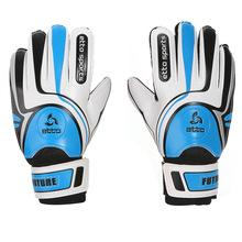 1 Pair Men Latex Goalkeeper Gloves Soccer Football Gloves-Latex Plam Goal Keeper Gloves For Training(China (Mainland))