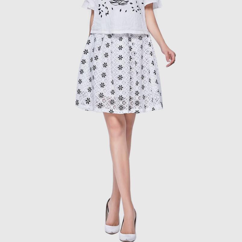 2016 Original Design Casual Summer Skirts High Waist Skirt Put On A Large New Printing ...