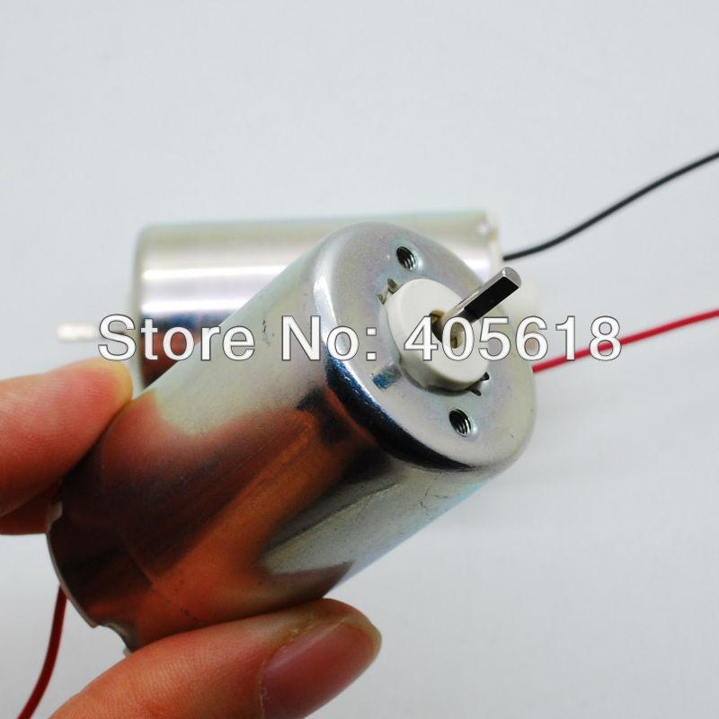 12V-24V DC permanent magnet generator wind generator Epson Micro Motor DIY big torque free shipping(Hong Kong)