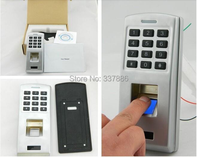 Фотография Wiegand 26/34 output. fingerprint access controller keypad