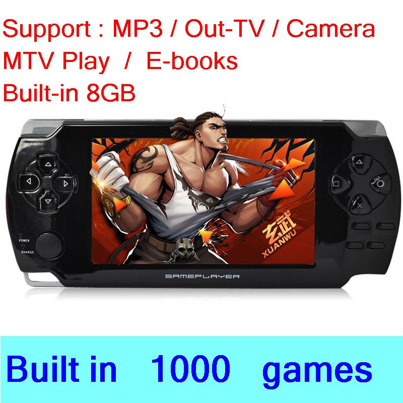 """COOL BABY X6 handheld 4.3""""LCD support battery, MP3, download games, multi-function(China (Mainland))"""